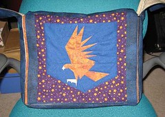 Jen's Ravenclaw messenger bag for Vegas