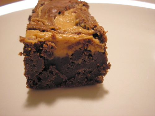 Chocolate Peanut Butter Brownie