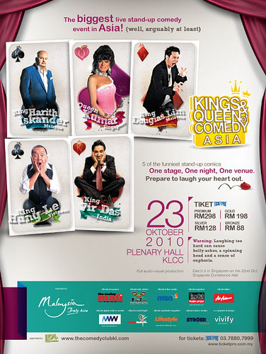 Kings & Queen of Comedy Asia 2010