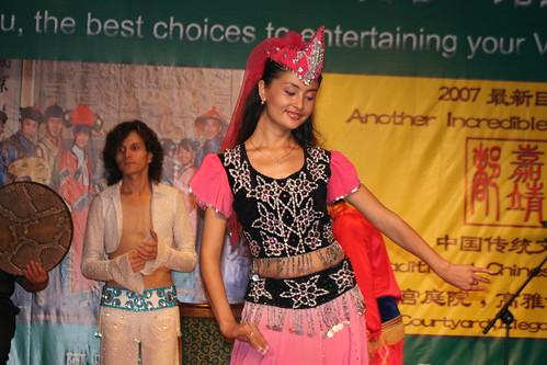 A Fun Ti Carnival Belly Dancer