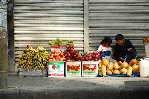 Selling Fruit