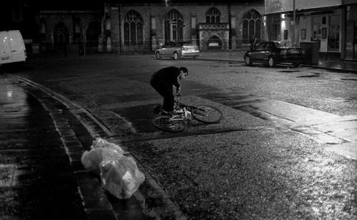 Drunk on bike