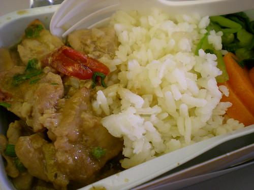 MAS inflight lunch