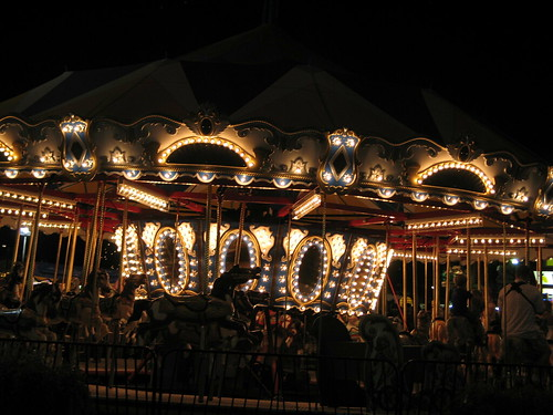 Carousel, MN State Fair, August 2007, photo © 2007 by QuoinMonkey. All rights reserved.