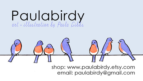 Business card, version 1.