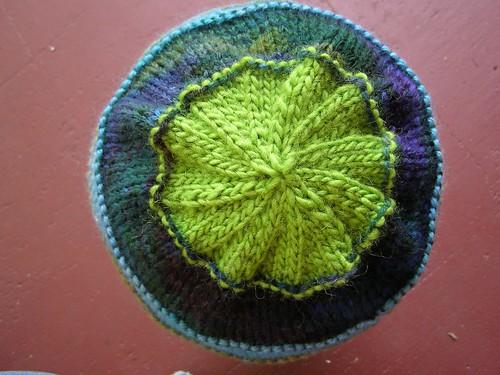 scrap-happy celebration hat - top