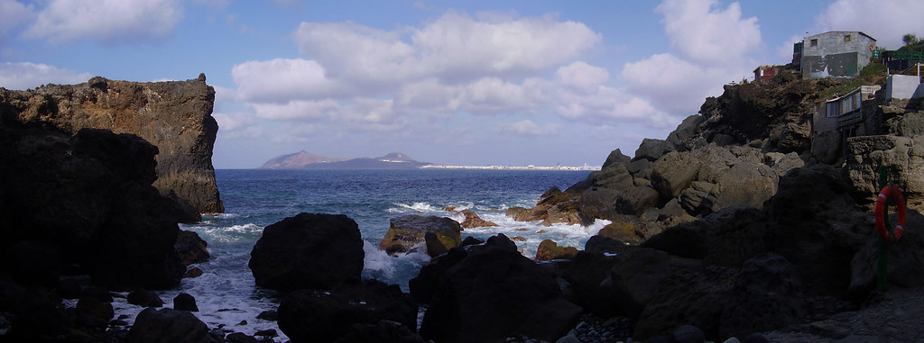 Las Palmas de GC, desde Punta de Arucas