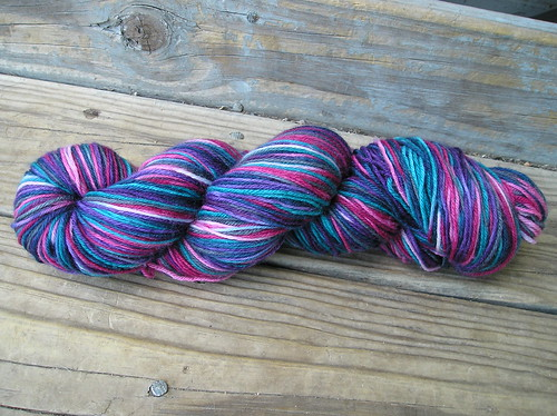 Hand Dyed Yarn - bright