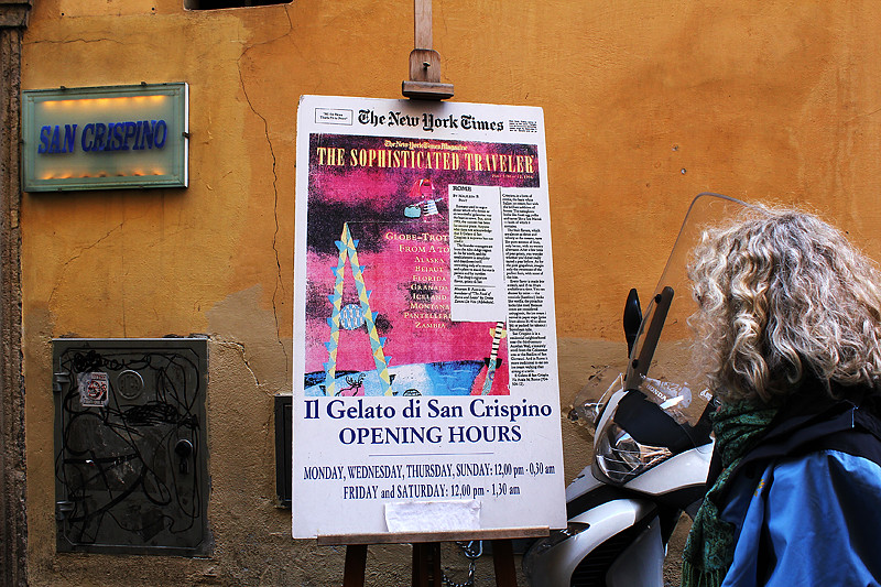 San Crispino - The best gelato in Rome