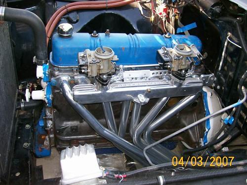 Ford 6 223 Intake Manifold
