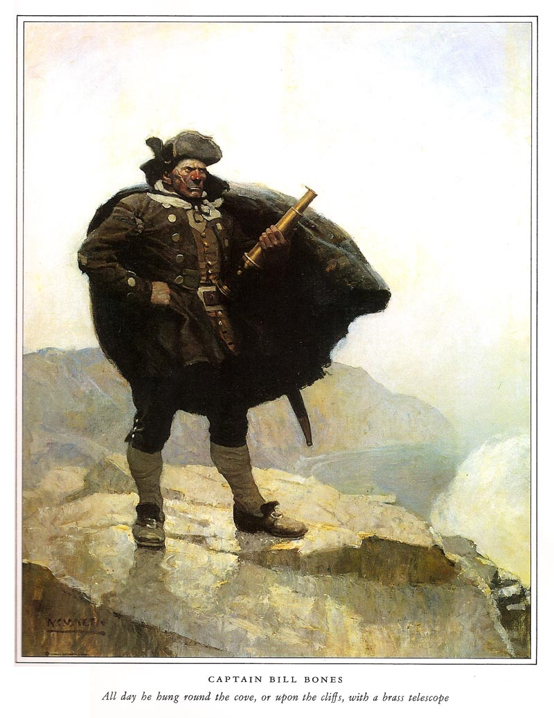 Image result for nc wyeth treasure island