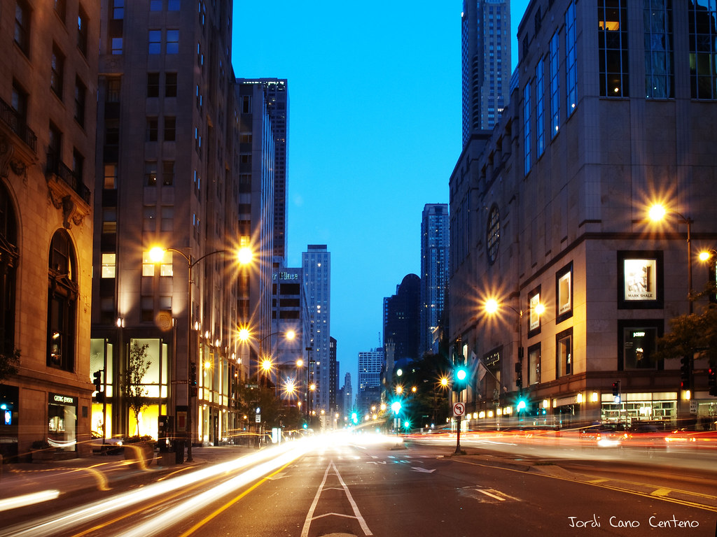Magnificent Mile, Avda. Michigan - Chicago
