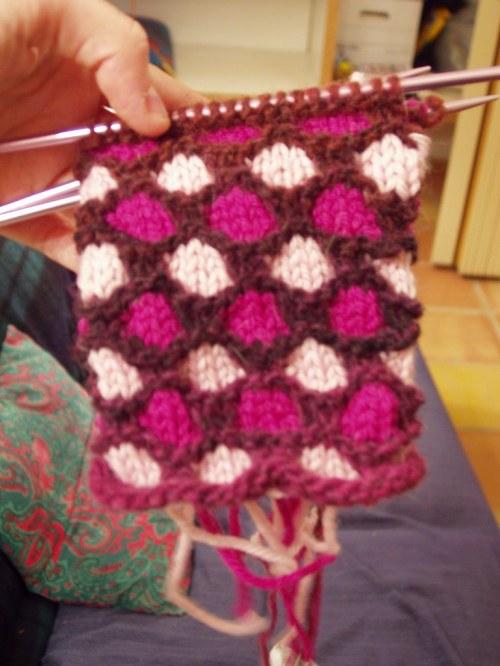 Panka's bag in progress