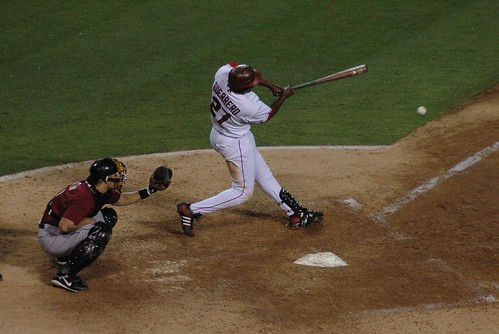 Guerrero at the plate (PV Bruin/flickr)