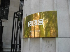 BBC Bush House sign by R/DV/RS, on Flickr
