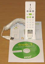 IPEVO FREE1 package includes