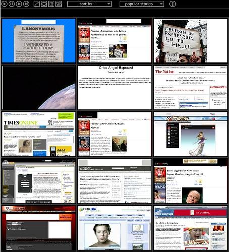 Digg Expose Screenshot Tool