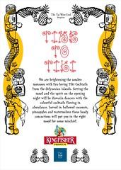 KINGFISHER presents Polynesian Tiki Nights