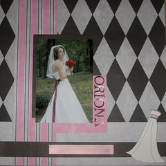 oriona's wedding scrapbook-the bride