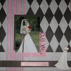 oriona's wedding scrapbook-the bride