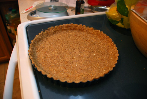Vegan Tart Crust - ready for filling