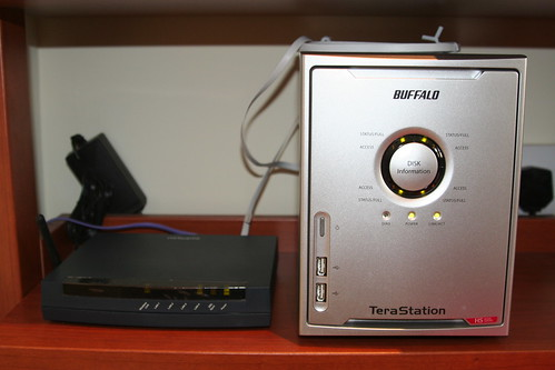 Buffalo TeraStation 2TB NAS up and running