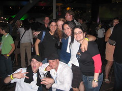 Jon, Hooley, Tamar, Rebecca, Rhea, Lisa, Bradley, Aaron, etc @ the Google Dance - SES San Jose 2007