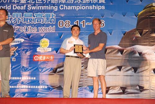 2007聽障游泳錦標賽-閉幕典禮-美國