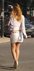 Mini skirt?  Really?