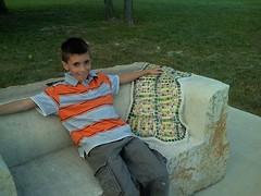 Tim on bench
