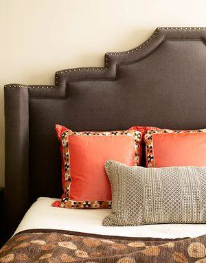 upholstered headboard shaped