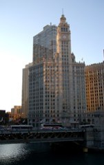 Michigan Avenue Bridge and Wrigley building