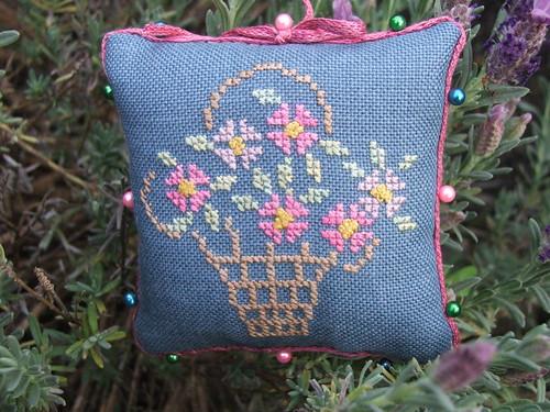 Pincushion from Barbara