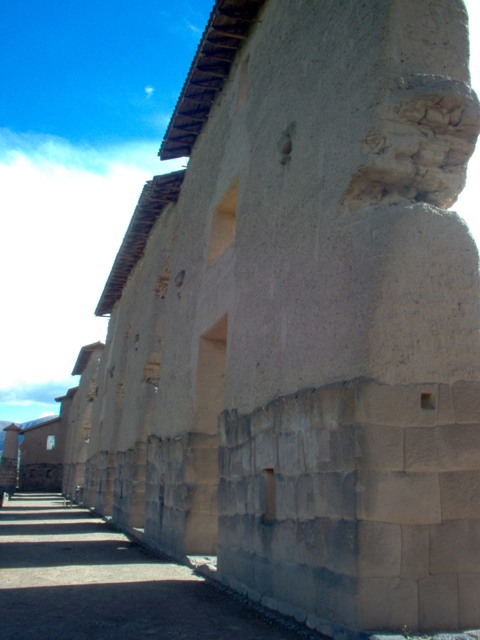 Sicuani, the largest precolombian wall in South America.