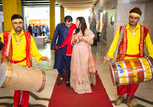 Band-baaja and the grand entry!
