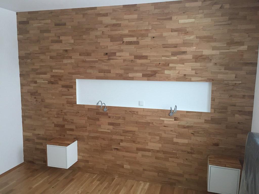 Wandgestaltung Schlafzimmer Holz Wandgestaltung Schlafzimmer Bett