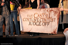 Winner Banner Signed by Misha Collins