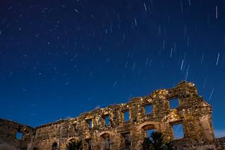Circumpolar en ruinas de Iglesia Madre de Dios - Úbeda - Jaén