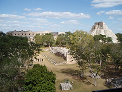 2005 01 18 10 Uxmal view north to nunnery complex from Governor's palace