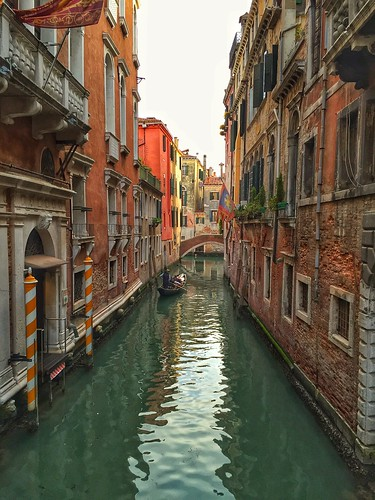 Today is all about...arriving in Venice