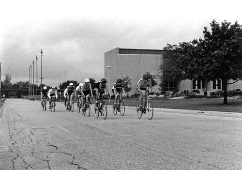 bike race at school - Oktoberfest 1986