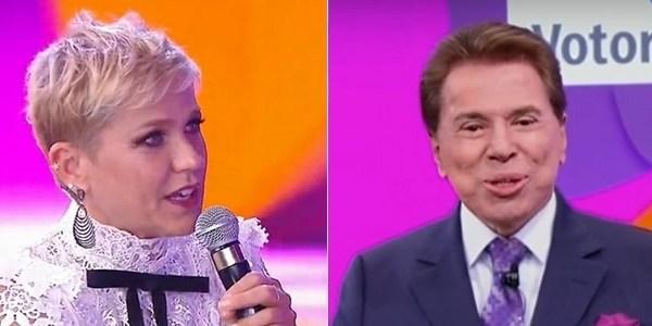 Silvio Santos anuncia contratação de Xuxa para linha de perfumes