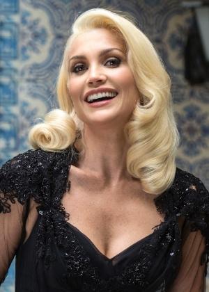 Flávia Alessandra diz que visual de vilã foi inspirado em diva de Hollywood