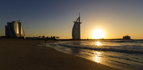 Burj al Arab @ sunset