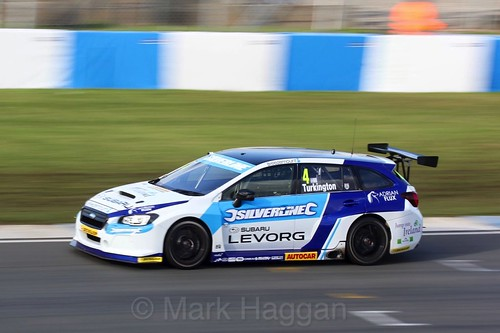 Coin Turkington during the BTCC Donington Weekend, April 2016
