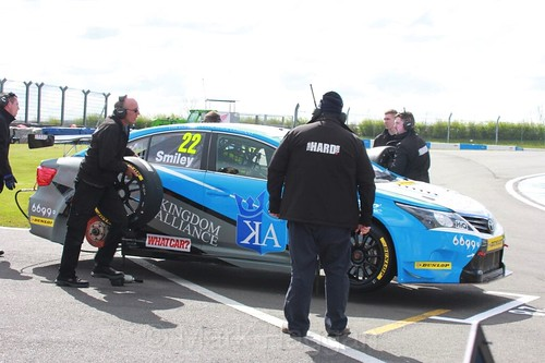 Chris Smiley during the BTCC Weekend at Donington Park, April 2016