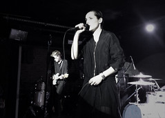 "Savages - 2015 NYC Residency, Mercury Lounge, New York City, NY 1-21-15 • <a style=""font-size:0.8em;"" href=""http://www.flickr.com/photos/79463948@N07/24253430723/"" target=""_blank"">View on Flickr</a>"