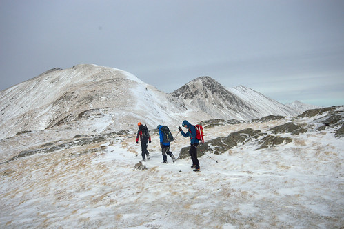 Setting off round the Ring of Steall