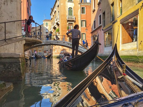 Today is all about...gondola ride