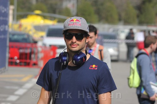 Carlos Sainz Jr during Formula One Winter Testing 2016